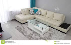 small apartment living room design idea leather couch dressing