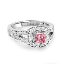 Pink Wedding Rings by 11 Best Wedding Rings Images On Pinterest Pink Diamonds Diamond