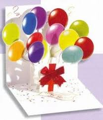 popular birthday wishes cards for anyone 3d pop up multi occasion