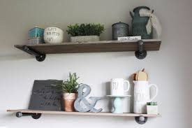 Diy Industrial Furniture by Diy Project How To Build Pipe Shelves The Holtz House