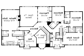 luxury idea 12 2 story house plans with master suites bedrooms in