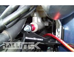 baja subaru impreza grimmspeed master cylinder brace all impreza 1993 2007 legacy