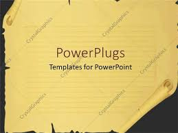 templates powerpoint crystalgraphics powerpoint template scrool paper with cuts and tears broken paper