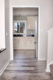 Laminate Kitchen Flooring Kitchen Flooring Birch Laminate Wood Look Floors In Low Gloss