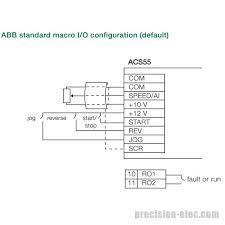 buy acs55 01e 07a6 2 2 hp abb acs55 micro vfd