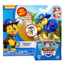 amazon paw patrol hero pup cowboy chase toys u0026 games
