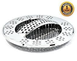 Amazoncom Hydroswift Fast Draining Kitchen Sink Strainer - Kitchen sink waste strainer
