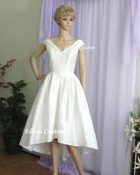 hem wedding dress vintage inspired wedding dress high low hem gorgeous