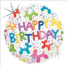 happy birthday balloon b happy birthday balloon dog