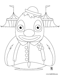 big fat clown coloring pages hellokids com