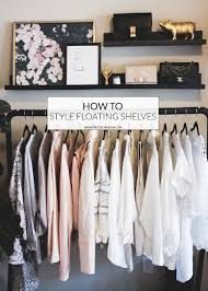 how to style floating shelves the teacher diva a dallas fashion