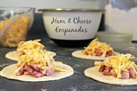 cheesy ham empanadas cooking with books