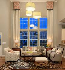 Curtains High Ceiling Decorating 9 Treatments For High Windows