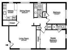 two bedroom house floor plans small 2 bedroom floor plans you can small 2 bedroom cabin