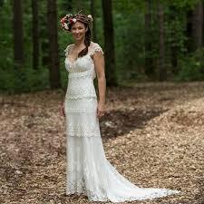 pettibone wedding dresses pettibone kristene with floral halo crown by modern day