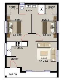 Granny Flat Floor Plans 1 Bedroom 2 Bedroom Granny Flat U2026 Pinteres U2026