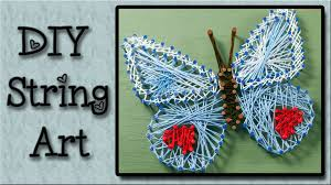 string art tutorial an easy art project for kids youtube