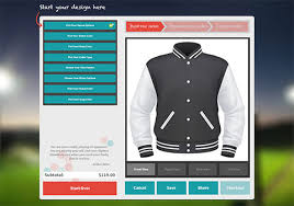 online varsity jacket design maker high school letterman jackets customize your own sports jacket