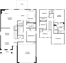 5 bedroom floor plans 2 story awe inspiring 2 story floor plans with garage 13 two story four