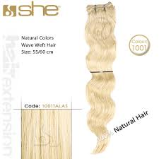 she hair extension hair extension weft wave 55 60 1001