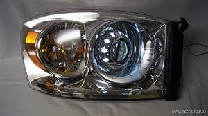dodge ram headlight 2006 2008 dodge ram hid projector retrofitted headls