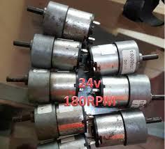 Jual Dc jual motor dc 24v 180rpm motor dc torsi besar berkualitas malang
