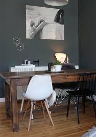 Esszimmer Tisch Vintage Es Werde Licht Vintage Esstische Dunkle Wände Und Skandinavisch