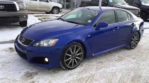 lexus isf blue lexus certified pre owned ultrasonic blue on black 2010 is f