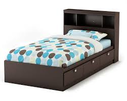 Plans For Platform Bed With Drawers by Twin Bed Frame With Storage Decofurnish