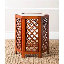 moroccan wood end table products bookmarks design inspiration