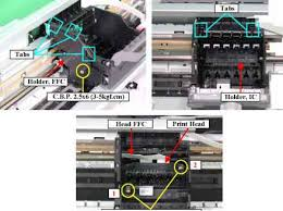 epson l replacement instructions print head removal epson stylus photo r220 r230