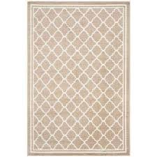 4 X 6 Outdoor Rug Border Beige 4 X 6 Outdoor Rugs Rugs The Home Depot