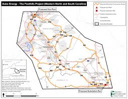 Western North Carolina Map Duke Energy Pulls Back On Controversial Project In Western
