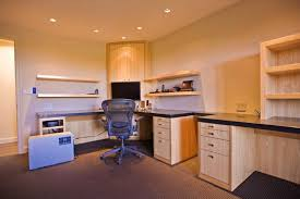 High End Home Office - Custom home office designs