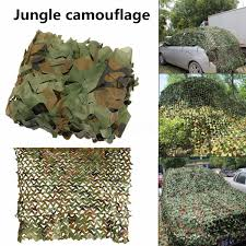 Camouflage Netting Decoration Camo Net Camouflage Netting Hide Army Cover Reversible Hunting