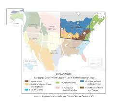 The Interior Plains Climate Landscape Conservation Cooperatives Lccs And Climate Science