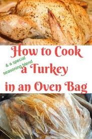 turkey in a bag recipe thanksgiving bag