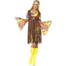Disco Halloween Costume 60 U0027s 1960s Groovy Lady Hippie Disco Peace Love Halloween Costume