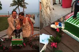 here u0027s the u0027inside u0027 story of that nick saban wedding cake from