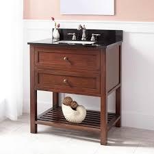 Bamboo Vanity Bathroom Espresso Undermount Sink Vanity Signature Hardware