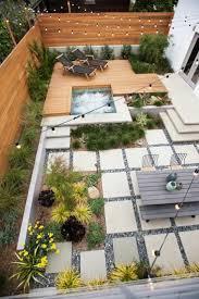 Gartengestaltung Mit Steinen Und Grsern Modern Die Besten 20 Reihenhausgarten Ideen Auf Pinterest Versunkener