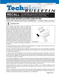 yamaha vx110 deluxe waverunner 2006 service manual