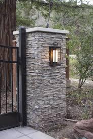 best 25 brick columns driveway ideas on pinterest front design