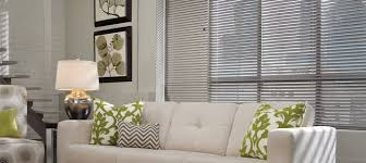 gray aluminum blinds mini blinds natural elements from hunter