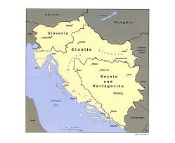 Political Map Of Western Europe by Maps Of Yugoslavia Detailed Map Of Yugoslavia Former Yugoslavia