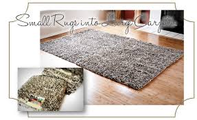 finding my aloha diy how to turn accent rugs into large area rugs