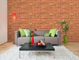 brick effect wallpaper bedroom memsaheb net