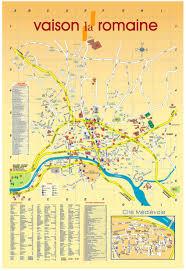 Provence Map City Map Vaison La Romaine Villa La Provence