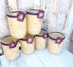 trick birthday candles rustic wedding jars shabby chic country
