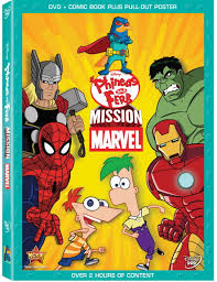 phineas and ferb mission marvel dvd phineas and ferb wiki